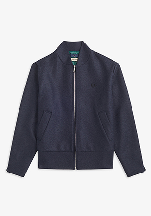 Casely Hayford Wool Tennis Bomber