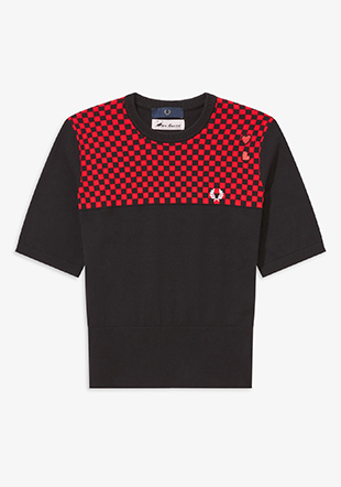 Amy Winehouse Checkerboard Knit