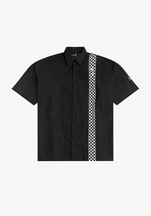 Raf Simons Short Sleeve Checkerboard Shirt
