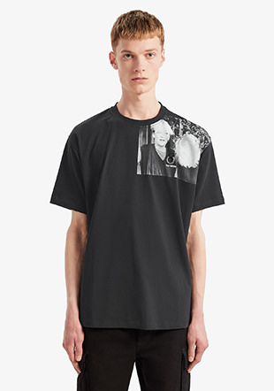 Raf Simons Shoulder Printed T-Shirt