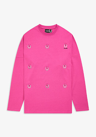 Raf Simons L/S Multi Laurel Wreath Top