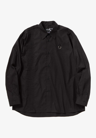Raf Simons Pleat Detail Woven Shirt