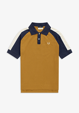Nicholas Daley Colour Block Polo Shirt