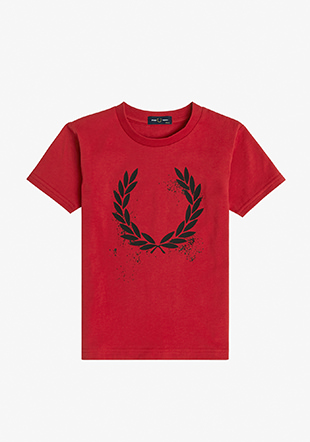 Kids Graphic Laurel T-Shirt