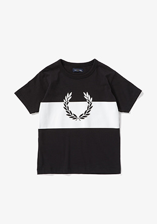 Kids Printed Laurel Wreath T-Shirt