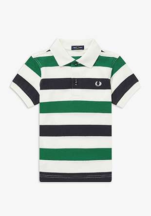 Kids Stripe Polo Shirt