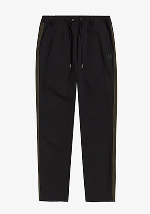 Contrast Tape Track Pant