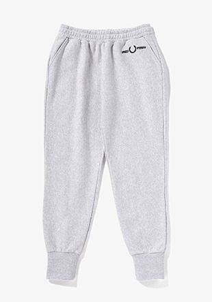 Cuffed Branded Track Pants