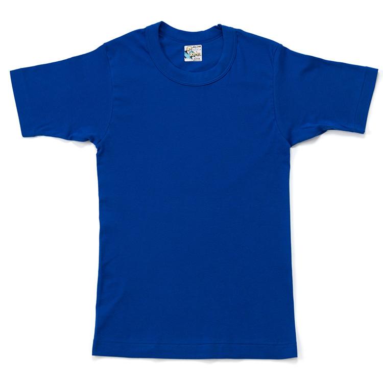 【久米繊維工業】SAY YOUNG(セイ・ヤング) Tシャツ(コバルトブルー, L)