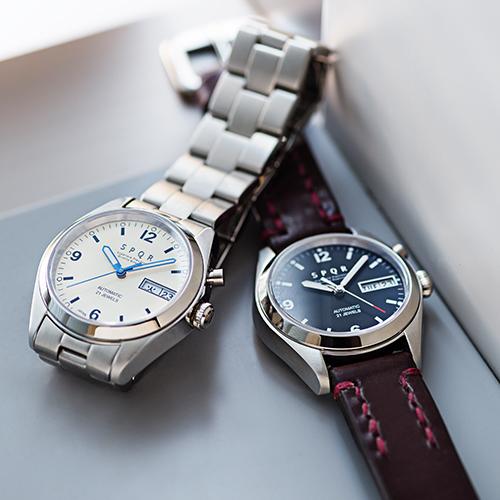 new style fe051 cc55a SPQR】Ventuno dd 自動巻デイデイト腕時計 | 藤巻百貨店