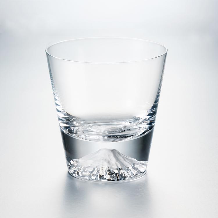 【TAJIMA GLASS】富士山ロックグラス