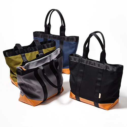 【AFRIX】LEATHER CANVAS BAG M