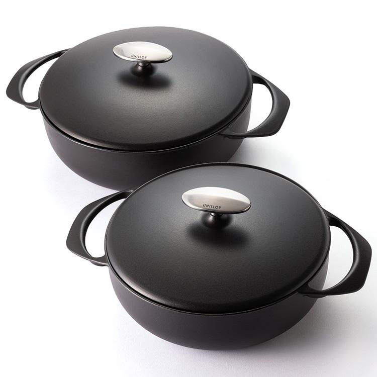 UNILLOY 鋳物ホーロー鍋