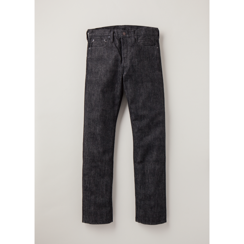 Slim Straight Black Selvedge Denim[再入荷!]
