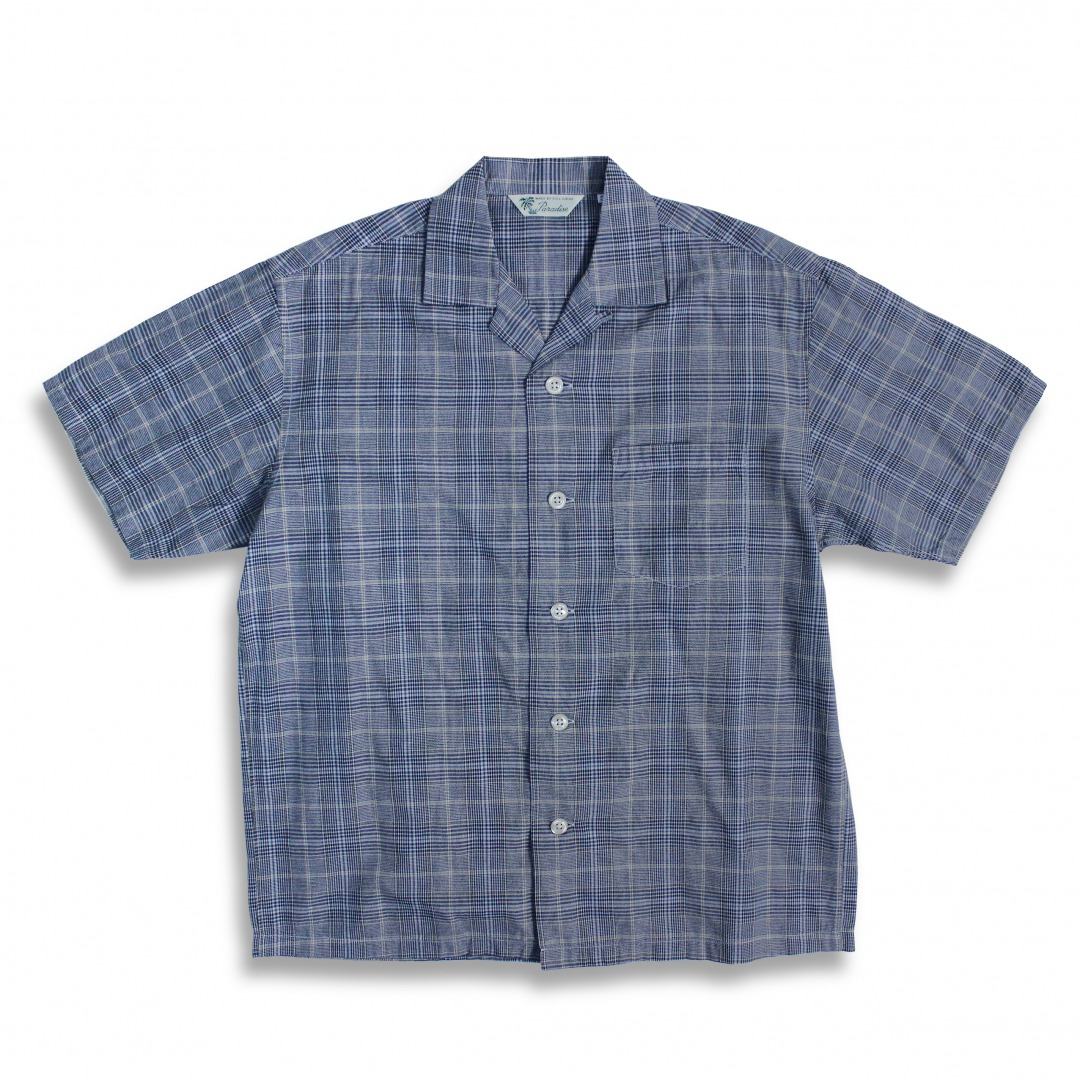 Check Open Collar Shirt[新発売!]
