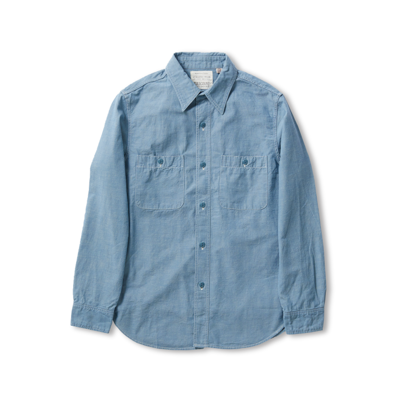 Chambray Shirt Short Sleeve