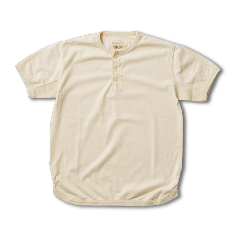 Flatseam Heavy Weight HenleyT-Shirt[入荷!]