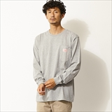 [ビッグマイク]SUNGLASS POCKET LONG TEE