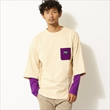 [マウンテンマニア]FAKE LAYERED LONG T-SHIRTS