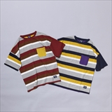 "[マウンテンマニア]SHORT SLEEVE TEE ""BORDER×PLAIN"""