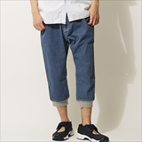 "[マウンテンマニア]ATHLETIC CROPPED PANTS ""DENIM"""