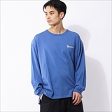 [マナスタッシュ]HEMP VENT LONG SLEEVE TEE
