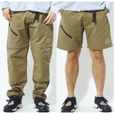 [オールグッド]Khaki Caving Zip Off Pant
