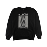 [オールグッド]ALL GOOD Unknown Peaks Crewnecks Black