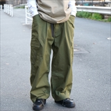 [ベン デイビス]COTTON WIDE CARGO PANTS