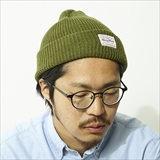 [ベニーゴールド]ANTI-WORK WEAR ACRYLIC BEANIE