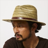 [ブリクストン]MESSER STRAW FEDORA
