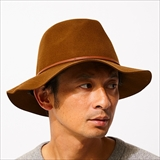 [ブリクストン]WESLEY PACKABLE FEDORA