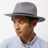 [ブリクストン]MESSER PACKABLE FEDORA