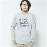 [バンザイペイント]John&Tony&Steve&Tommy L/S T