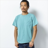 [カルクルー]SS CREW NECK TEE WITH PKT