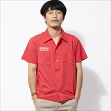 [クラクト]PRIMEFLEX OPEN COLLOR SHIRT
