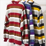 "[マウンテンマニア]LONG SLEEVE CREW NECK""BORDER"""