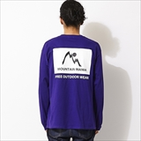"[マウンテンマニア]LONG SLEEVETEE ""MOUNTAIN MANIA"""