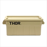 "[ディテール]Thor Large Totes With Lid ""53L / Coyote"""