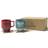 [フィクチュール]HABANA Block Mug Set