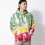 "[フリッジ]TIE DYE HOODIE ""fridge limited color"" RASTA"