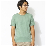 [ゴーヘンプ]HEMP×ORGANIC COTTON BASIC SHORT SLEEVE TEE