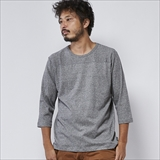 [ゴーヘンプ]BASIC FOOTBALL TEE/(TOPGRAY/BLACK HEATHER)