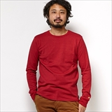 [ゴーヘンプ]SUN BLEND WARMER BASIC LONG SLEEVE TEE