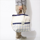 [ゴーヘンプ]TWO WAY BAG/KINARI&INDIGO