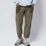 [ゴーヘンプ]VENDOR RIB PANTS/ H/C JAZZ LEFT GABARDINE