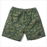 "[ゴーヘンプ]HEMP JAM SHORTS/ ""LOTUS PRINT"""