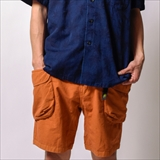 [ゴーヘンプ]HEMP UTILITY SHORTS/H/C WEATHER
