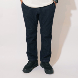 [ゴーヘンプ]SLIM RIB PANTS(ONE WASH)