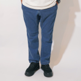 [ゴーヘンプ]SLIM RIB PANTS(USED WASH)